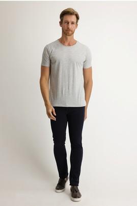 Erkek Giyim - KOYU İNDİGO 56 Beden Slim Fit Denim Pantolon