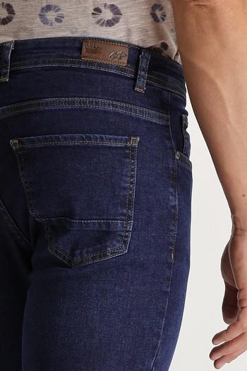 Erkek Giyim - Slim Fit Denim Pantolon