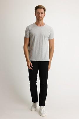 Erkek Giyim - SİYAH 48 Beden Slim Fit Denim Pantolon