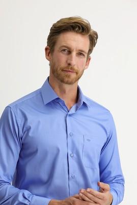 Erkek Giyim - AQUA MAVİSİ M Beden Uzun Kol Non Iron Klasik Gömlek