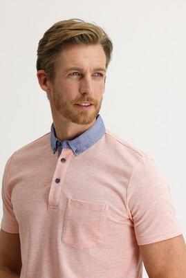 Erkek Giyim - YAVRU AĞZI 3X Beden Polo Yaka Regular Fit Tişört