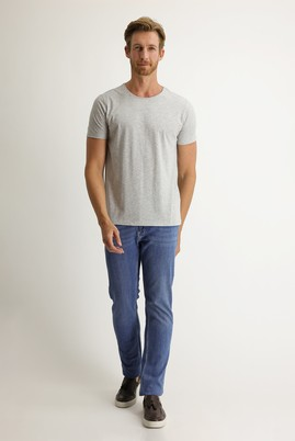 Erkek Giyim - HAVACI MAVİ 48 Beden Denim Pantolon