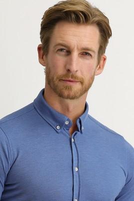 Erkek Giyim - HAVACI MAVİ M Beden Polo Yaka Gömlek Tişört