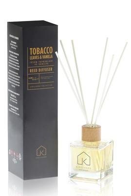 Erkek Giyim - Renksiz  Beden Tütün Yaprakları ve Vanilya Oda Kokusu 120 ml