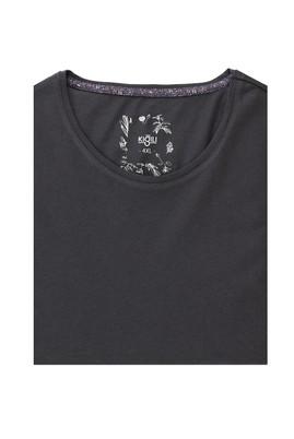 Erkek Giyim - MARENGO 4X Beden Büyük Beden Bisiklet Yaka Slim Fit Tişört