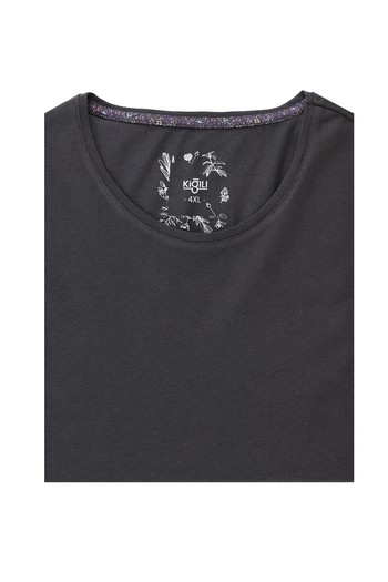 Erkek Giyim - King Size Bisiklet Yaka Slim Fit Tişört