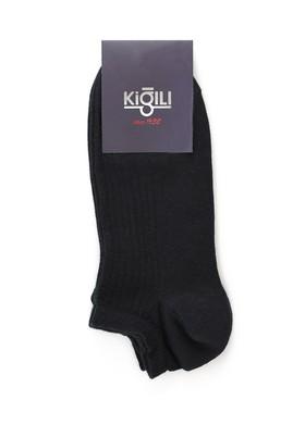 Erkek Giyim - SİYAH 42-45 Beden 2'li Spor Çorap