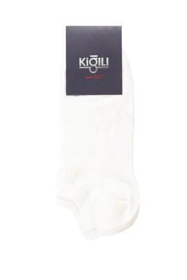 Erkek Giyim - BEYAZ 42-45 Beden 2'li Spor Çorap