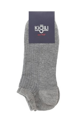 Erkek Giyim - ORTA GRİ 39-41 Beden 2'li Spor Çorap
