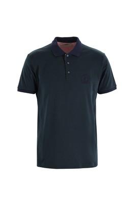 Erkek Giyim - NEFTİ 3X Beden Polo Yaka Slim Fit Desenli Tişört