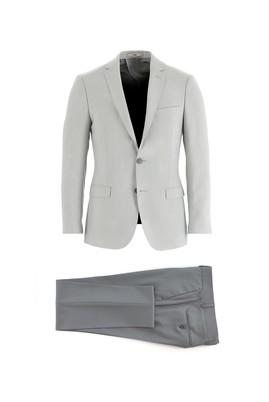 Erkek Giyim - AÇIK GRİ 56 Beden Regular Fit Kombinli Takım Elbise