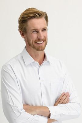 Erkek Giyim - UÇUK MAVİ 3X Beden Uzun Kol Regular Fit Kareli Gömlek