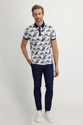 Erkek Giyim - AÇIK MAVİ 48 Beden Slim Fit Beli Lastikli İpli Spor Pantolon
