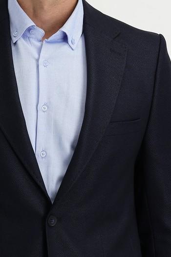 Erkek Giyim - Kuşgözü Klasik Ceket