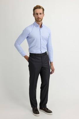Erkek Giyim - ORTA ANTRASİT 46 Beden Klasik Pantolon