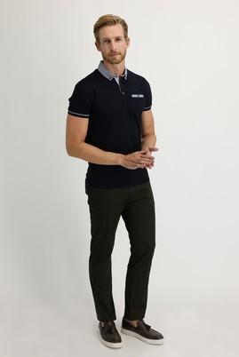 Erkek Giyim - ORTA HAKİ 50 Beden Saten Spor Pantolon