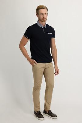 Erkek Giyim - CAMEL 48 Beden Slim Fit Saten Spor Pantolon