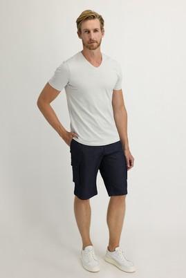 Erkek Giyim - KOYU MAVİ 58 Beden Bermuda Şort