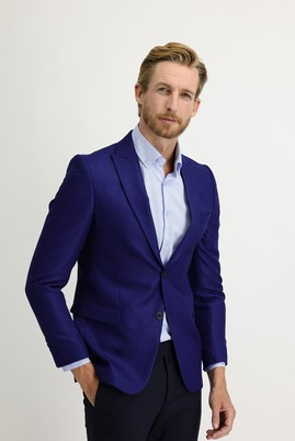 Erkek Giyim - MAVİ 52 Beden Regular Fit Ceket