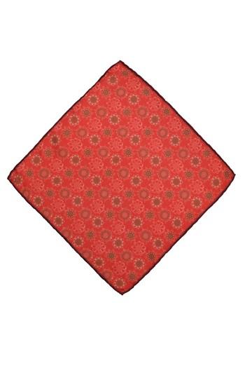 Erkek Giyim - Edirne Kırmızısı Desenli Mendil