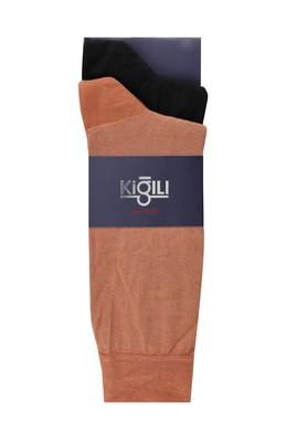 Erkek Giyim - TABA 39-41 Beden 2'li Düz Çorap