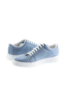 Erkek Giyim - KOYU MAVİ 44 Beden Bağcıklı Sneaker Ayakkabı