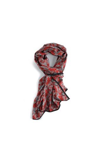 Erkek Giyim - Edirne Kırmızısı Desenli Şal