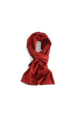 Erkek Giyim - EDİRNE KIRMIZI  Beden Edirne Kırmızısı Desenli Şal