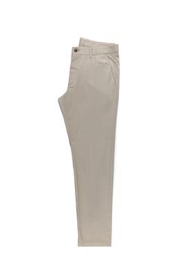 Erkek Giyim - ORTA BEJ 48 Beden Saten Spor Pantolon