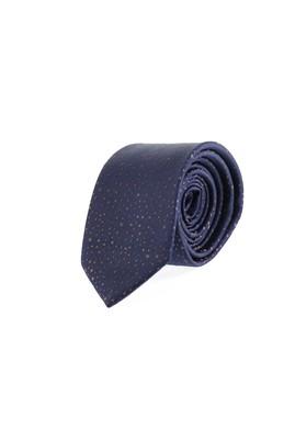 Erkek Giyim - ORTA LACİVERT 165 Beden Desenli Kravat