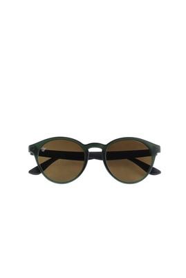 Erkek Giyim - KOYU YEŞİL  Beden UV Korumalı Kemik Çerçeveli Güneş Gözlüğü