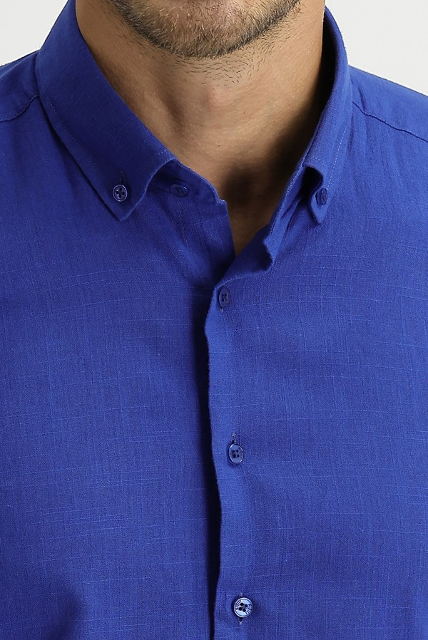 Uzun Kol Relax Fit Gömlek