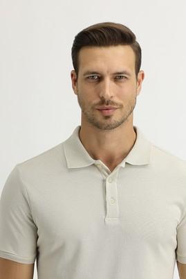 Erkek Giyim - TAŞ 3X Beden Polo Yaka Slim Fit Tişört