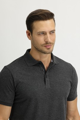 Erkek Giyim - MARENGO 3X Beden Polo Yaka Slim Fit Tişört