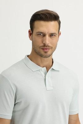 Erkek Giyim - TAŞ -2 3X Beden Polo Yaka Regular Fit Tişört