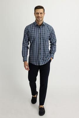Erkek Giyim - KOYU LACİVERT 56 Beden Slim Fit Spor Pantolon
