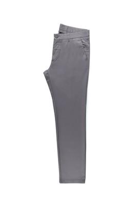 Erkek Giyim - ORTA FÜME 50 Beden Saten Spor Pantolon