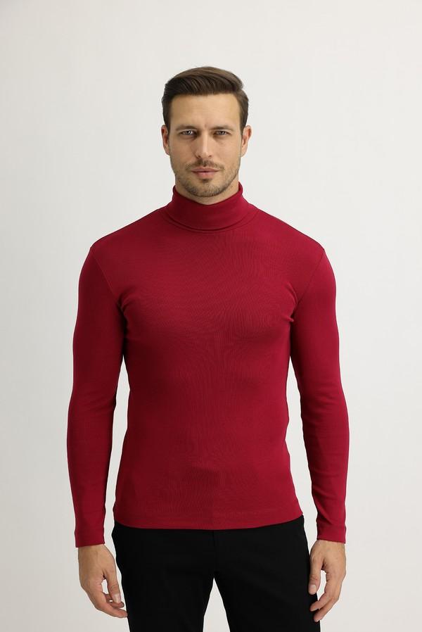 Balıkçı Yaka Slim Fit Sweatshirt