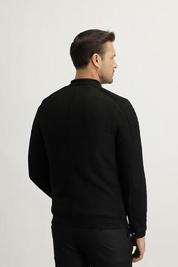 Erkek Giyim - Nubuk Görünümlü Spor Mont