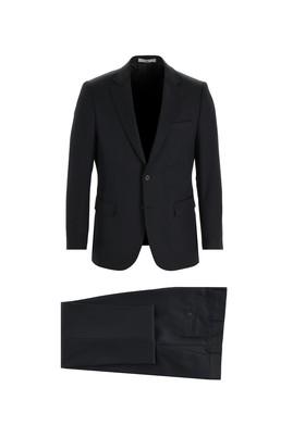 Erkek Giyim - SİYAH 58 Beden Klasik Takım Elbise