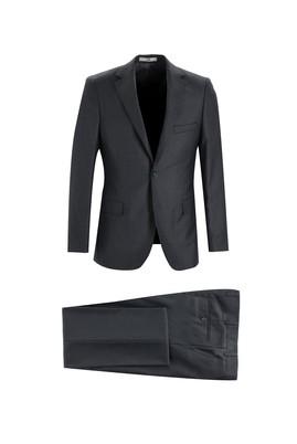 Erkek Giyim - MARENGO 56 Beden Klasik Kuşgözü Takım Elbise
