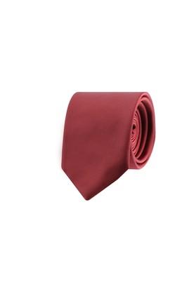 Erkek Giyim - KOYU BORDO 165 Beden Düz Kravat
