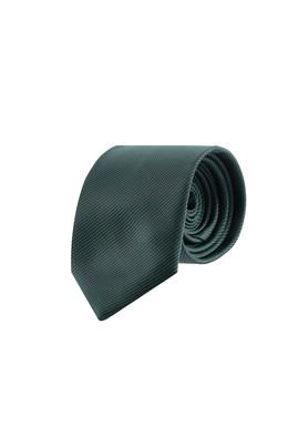 Erkek Giyim - KOYU YEŞİL  Beden Desenli Kravat