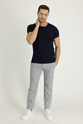 Erkek Giyim - AÇIK MAVİ 46 Beden Beli Lastikli İpli Spor Pantolon