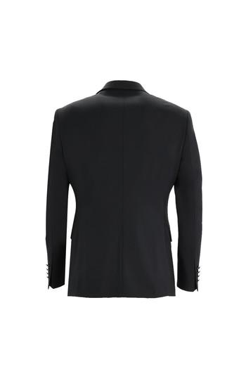 Erkek Giyim - Slim Fit Mono Yaka Yelekli Smokin & Damatlık