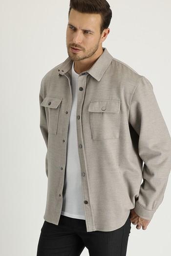 Erkek Giyim - Shacket Gömlek / Mont