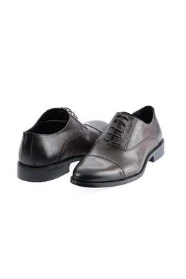 Erkek Giyim - KOYU KAHVE 40 Beden Klasik Ayakkabı