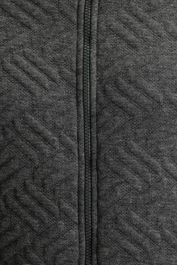 Erkek Giyim - Regular Fit Fermuarlı Sweatshirt