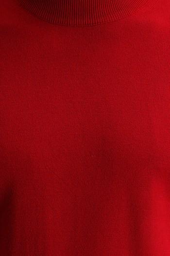 Erkek Giyim - Bato Yaka Regular Fit Triko Kazak
