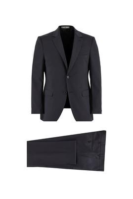 Erkek Giyim - SİYAH 50 Beden Slim Fit Takım Elbise